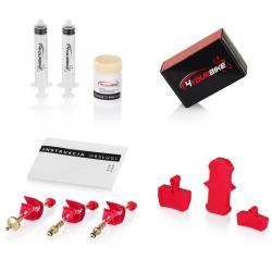 AVID / SRAM PRO zestaw do odpowietrzania hamulców z płynem i blokerami