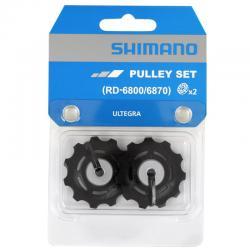 SHIMANO ULTEGRA RD-6800 kółeczka przerzutki dolne/napinające