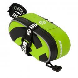 Silikonowa torebka podsiodłowa - BikeRibbon - Mała - Zielona