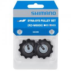 SHIMANO DEORE RD-M6000 kółeczka przerzutki SGS