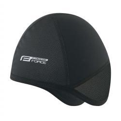Zimowa czapka pod kask Force Freeze Czarna L/XL