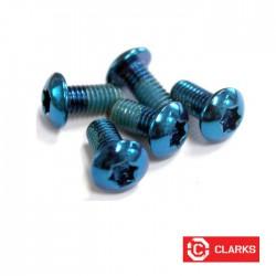 Śruby tarcz hamulcowych - torx - NIEBIESKIE - 12gram CLARKS