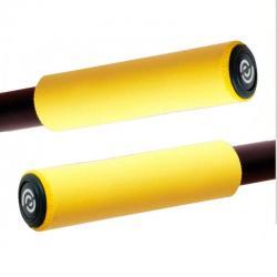 Silikonowe chwyty Bike Ribbon SIO2 - Żółte