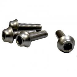 Śruby aluminiowe M5 - 15mm GRAFITOWE XTR A2Z - 4szt