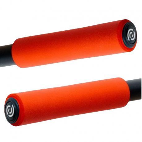 BikeRibbon włoskie silikonowe chwyty SIO2 czarne