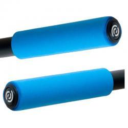 BikeRibbon włoskie silikonowe chwyty SIO2 czerwone (gripy)
