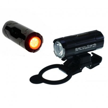 MOON AEROLTE - przednia lampka akumulatorowa 60/10lum