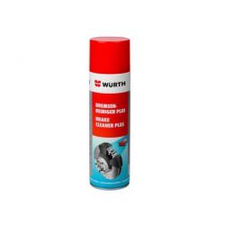 Preparat WURTH do odtłuszczania tarcz i klocków hamulcowych 500ml