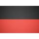 BIKERIBBON dwukolorowa owijka na kierownice szosową - czarno czerwona