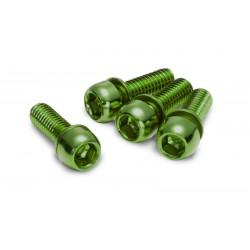 REVERSE - śruby do hamulców - M6x18 zielone