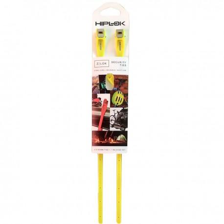 HIPLOK Z-LOK - zapięcie / sprytne opaski zaciskowe - żółte