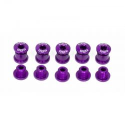 Śruba do tarcz z kominem A2Z fioletowa - purpurowa
