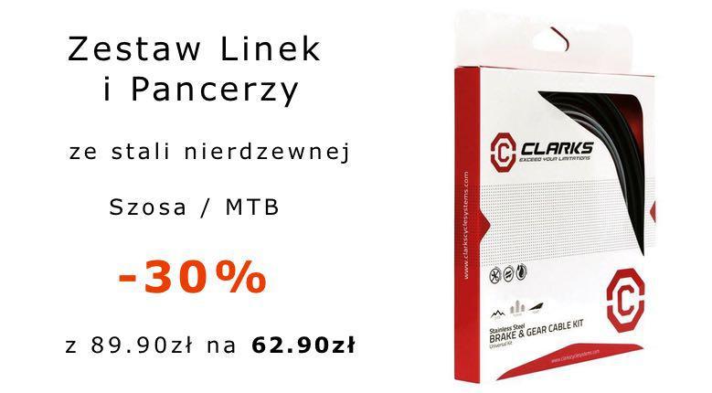 -30% na Zestaw Linek i Pancerzy CLARKS!